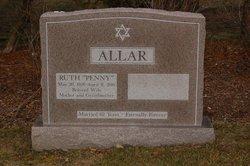 """Ruth E. """"Penny"""" <I>Lewine</I> Allar"""