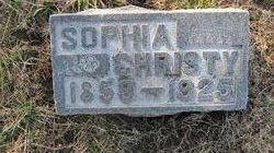 Sophia <I>Smith</I> Christy