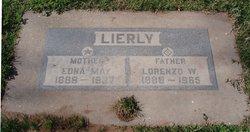 Edna May <I>Saulsbury</I> Lierly