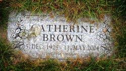 Catherine <I>Kerrigan</I> Brown