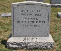 Ruth Ann <I>Titus</I> Sked