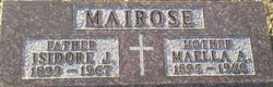 """Mary Ellen """"Maella"""" <I>McKim</I> Mairose"""