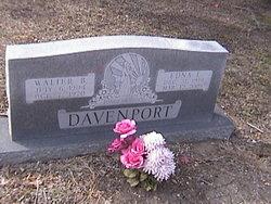 Edna Elsie Marie <I>Lange</I> Davenport
