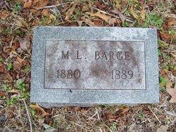 Margaret Lou Ella Barge