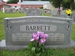 Garnette <I>Lewis</I> Barrett