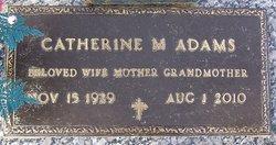 Catherine M. <I>Lindauer</I> Adams