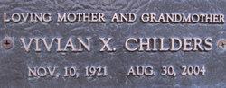 Vivian X. Childers