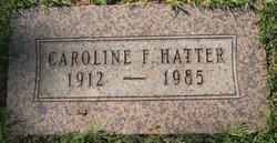 Caroline F Hatter