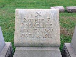George F Prevelige