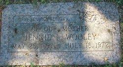 Jennie Lahoma <I>Tucker</I> Wooley