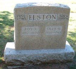 Ollie Frances <I>Hartley</I> Elston