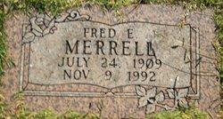 Fred Edgar Merrell
