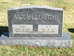 Alma <I>Taylor</I> McCullough