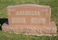"""Henry Lee """"Doc"""" Parsons"""