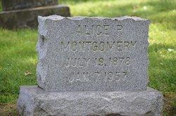 Alice P Montgomery