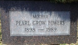 Cora Pearl <I>Grow</I> Fowers