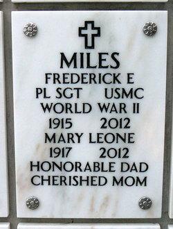 Mary Leone <I>Petersen</I> Miles