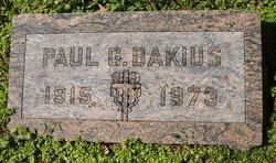 Paul G Bakius