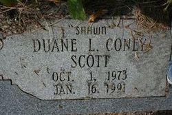 "Duane Coney ""Shawn"" Scott"