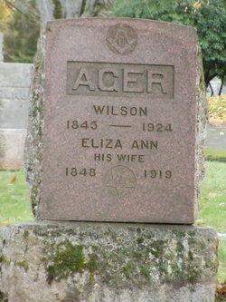 Wilson W Ager