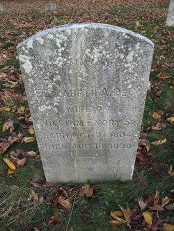 Elizabeth A Emory