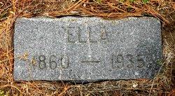 "Lydia Ellen ""Ella"" <I>Gideon</I> Bartley"
