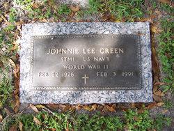 Johnnie Lee Green