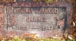 Virginia <I>Brown</I> Barnes