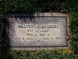 Walter J Bridges