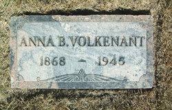 Anna Bertha <I>Bartz</I> Volkenant