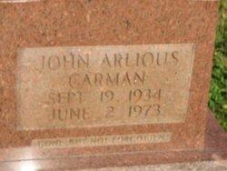 John Arlious Carman