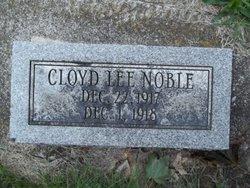 Cloyd Lee Noble