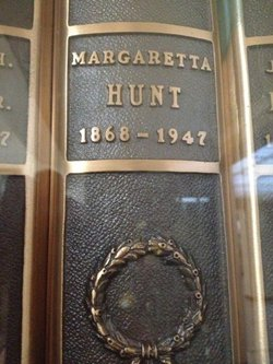 Margaretta <I>Mock</I> Hunt
