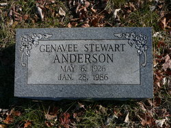 Genavee <I>Stewart</I> Anderson