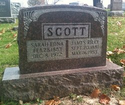 Sarah Edna <I>Erhardt</I> Scott