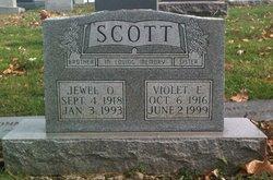 Violet E Scott