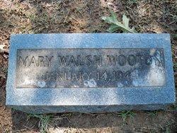 Mary <I>Walsh</I> Wooton