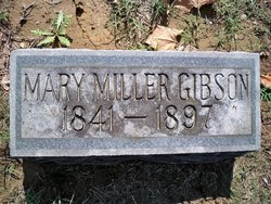 Mary <I>Miller</I> Gibson