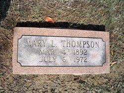 Mary L Thompson