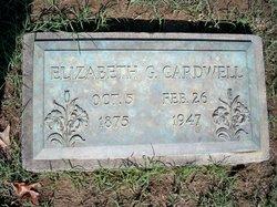 Elizabeth G Cardwell