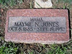 Mayme N. <I>Turnipseed</I> Jones