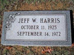 Jeff W Harris