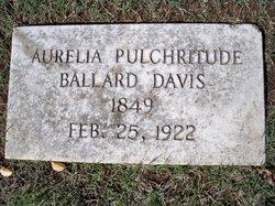 Aurelia Pulchritude <I>Ballard</I> Davis