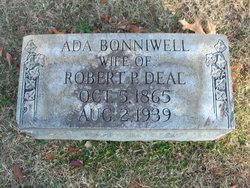 Ada Louise <I>Bonniwell</I> Deal