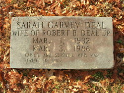 Sarah <I>Garvey</I> Deal