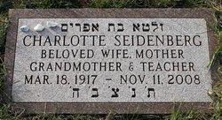 Charlotte <I>Sherman</I> Seidenberg