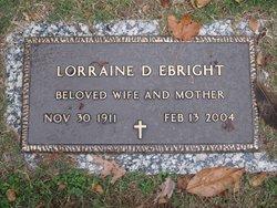 Lorraine D. Ebright