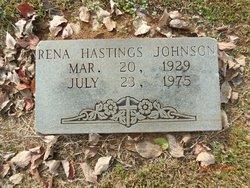Rena <I>Hastings</I> Johnson
