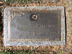 Recelia <I>Goodwin</I> Calloway