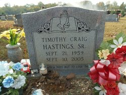 Timothy Craig Hastings, Sr